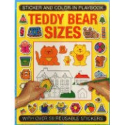 Sticker and Color-In Playbook: Teddy Bear Sizes: With Over 50 Reusable Stickers