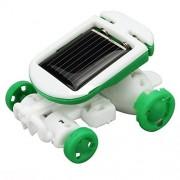 Solar Robot New 6 In 1 Power Toys Plastic Educational Chameleon Kits DIY