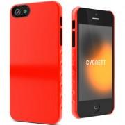 Husa de protectie Cygnett Aerogrip Form pentru iPhone SE/5s/5, Red