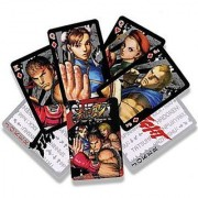 Street Fighter Super Street Fighter IV Playing Cards Poker Deck