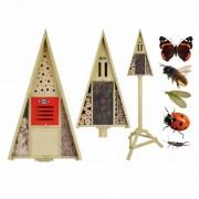Esschert Design Insect Hotel on Pole in Gift Box WA18
