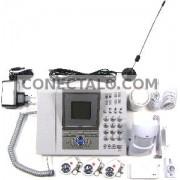 Alarma para GSM de 2 bandas con teclado y teléfono
