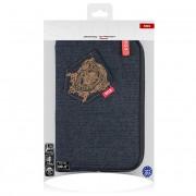 Husa textil 7 inci Sox Denim Blister Originala