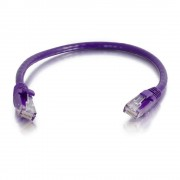 C2G 5m Cat6 550MHz Snagless Patch Cable 5m Cat6 U/UTP (UTP) Purple networking cable