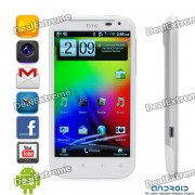 "HTC Sensation XL Android 2.3 WCDMA Smartphone w/Beats Audio, 4,7 ""S-LCD capacitif et GPS - blanc"