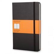 Moleskine 944350 - Cuaderno (A5, goma elástica), color negro