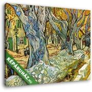 Vincent Van Gogh: Útkaparók (30x25 cm, Vászonkép )