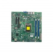 Supermicro X10SLL-F Server Motherboard - Intel C222 Chipset - Socket H3 LGA-1150 - Retail Pack - Micro ATX - 1 X Processor Support - 32 GB DDR3 SDRAM Maximum RAM - Serial ATA/600, Serial ATA/300 RAID Supported Controller - On-board Video Chipset - 1 X PCI