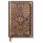 Paperblanks Collection Lindau Gospels Carnet de note Ligné Mini Multicolore