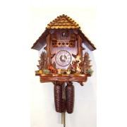 "ISDD Cuckoo Clock - Reloj cucú, diseño ""tronco, mujer que cuida gansos"""