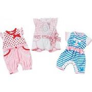 Zapf Creation 816646 Born Baby Romper Collection ®, assortiti 3