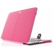 Fuchsia effen booktype voor de MacBook Pro Retina 13.3 inch