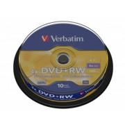 Verbatim DVD+RW 4X 4,7GB (43488), set/10 bucati spindle