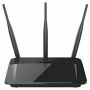 Router Wireless D-Link DIR-809, Dual Band, 750 Mbps, 3 Antene externe