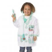 Melissa and Doug verkleedkleding dokter met accessoires