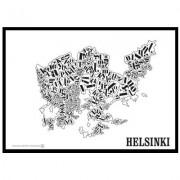 Helsinkikarta poster