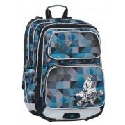 GALAXY 7 F BLUE/BLACK/GREY Bagmaster iskolatáska