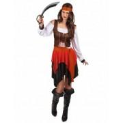 Vegaoo Piraten-Kostüm für Damen