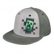 Minecraft Inside Creeper шапка с козирка