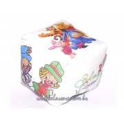Almofadinha Personalizada - Formato Cubo / Quadrada