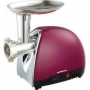 Masina de tocat Heinner MG1500TA-BG 1600W Accesoriu pentru rosii si carnati Cutit inox Visiniu sidefat