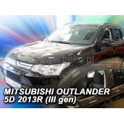 Deflektory komplet 4 ks - Mitsubishi Outlander, 2012-
