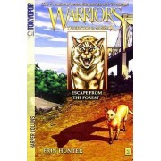 Warriors: Tigerstar and Sasha #2: Escape from the Forest [Manga] by Erin Hunter