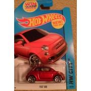 FIAT 500 Hot Wheels Hw City 25/250 new for 2014