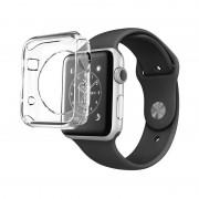 Husa de protectie Silicon Hoco Apple Watch 42mm - Transparent