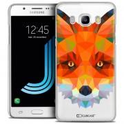 Clubcase Coque Crystal Galaxy J5 2016 (J510) Extra Fine Polygon Animals - Renard