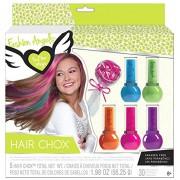 Fashion Angels Hair Chox Temporary Hair Color Chalks Kit [2014 Edition]