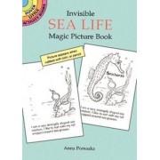 Invisible Sea Life Magic Picture Book by Anna Pomaska