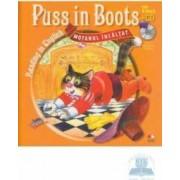 Motanul incaltat. Puss in boots. Reading in english + cd. lectura Margareta Paslaru