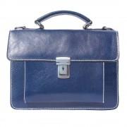 Florence Leather Market Mini cartella ventiquattrore con due scomparti e una tasca frontale (6564)
