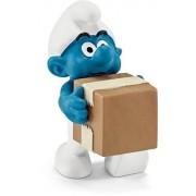 Schleich - 20771 - Figurine Bande Dessinée - Schtroumpf Logisticien