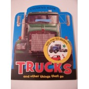 Trucks And Other Things That Go Coloring Book With Over 50 Color Stickers!