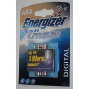 Energizer Ultimate Lithium digital AAA Micro LR03 Batterie