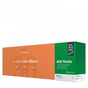 30 Days Liver Detox + ALL IN A DAY Milk Thistle