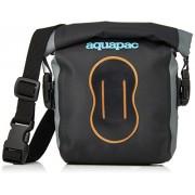 Aquapac Estuche impermeable para cámara de fotos digital (Negro/Naranja, IPX6)