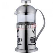 Infuzor din sticla pentru ceai sau cafea Renberg, Capacitate 800 ml