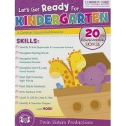 Let's Get Ready for Kindergarten Christian Bind-Up Workbook by Twin Sisters(r)