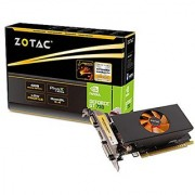 ZOTAC GeForce GT 730 4GB DDR5 64-bit PCI Express 2.0 HDMI DVI VGA Fan Cooled Low Profile Video Graphics Card (ZT-71118-10L)