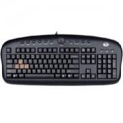 Клавиатура A4 KB-28G GAME MMED/BLACK/USB
