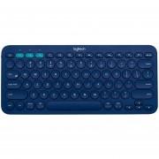 Teclado Logitech K380 Multi Dispositivo Bluetooth - Azul