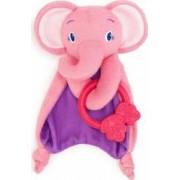 Paturica Rontaitoare Cozy Chew-Elefantel Roz