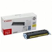 Тонер касета за Canon (CRG-707 Y) LBP-5000 Жълт (CR9421A004AA)