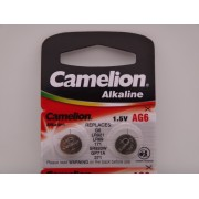 Camelion AG6, baterie ceas 1.5V alcalina, LR921, LR69, 171, SR920W, GP71A, 371 blister 10
