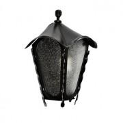 Kovaná stojatá lucerna, LM005, černá