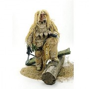 12 Poseable Special Forces Action Figure Newest 1:6 - Desert Sniper Stand Bendable Soldier Figure Model Collection