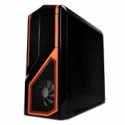 NZXT computer case Phantom 410, Black/Orange